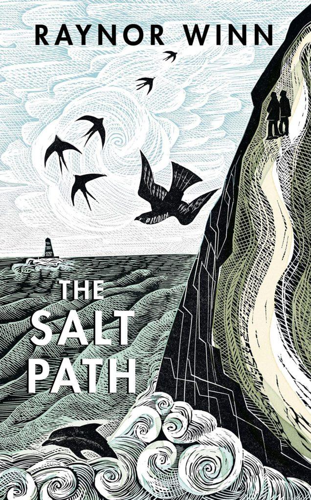 The Salt Path by Raynor Winn book cover