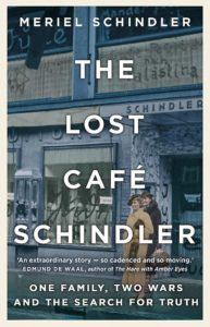 The Lost Cafe Schindler book cover