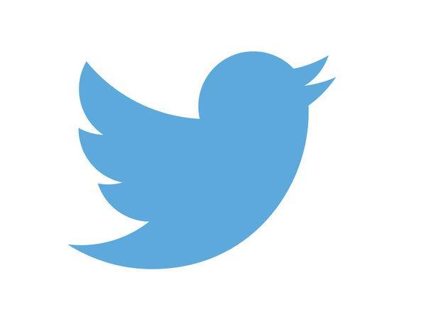 Twitter logo blue bird